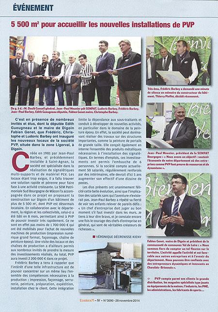 EcoDocs 71 (28 novembre 2014